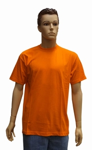 """T-shirt met ronde hals   """" Oranje """""""