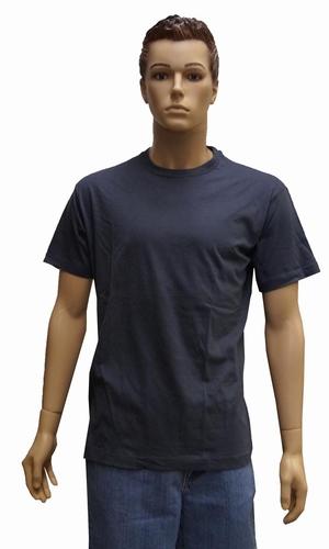 """T-shirt met ronde hals   """" Donker grijs """""""