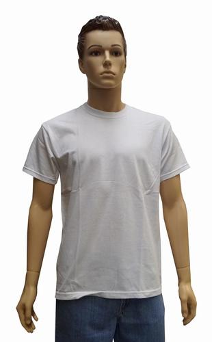 """T-shirt met ronde hals   """" Wit """""""