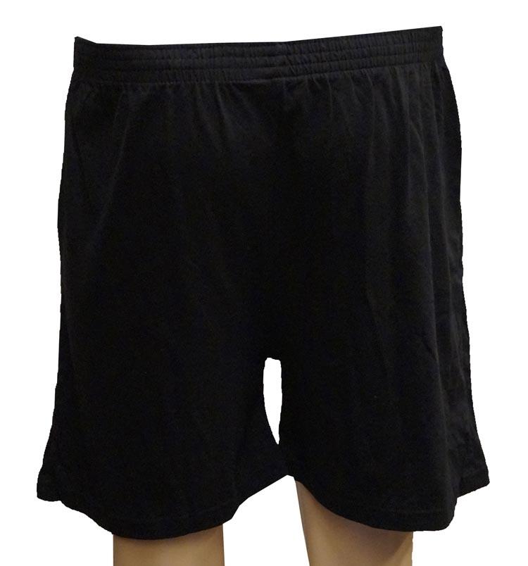 """Boxershort met knoopjes  """" Adamo """"   Zwart"""