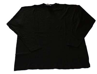 """T-shirt met lange mouwen  """"  Zwart """""""