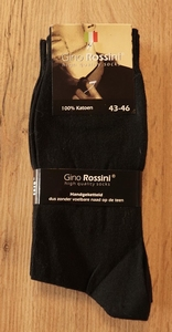 "Heren sokken  ""  Gino Rosini ""   Effen  3 paar"