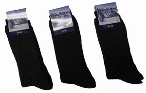 "Noorse sokken ( thermo )  "" Donker grijs ""   3 paar"