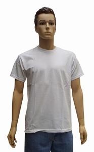 """Grote maten T-shirt met ronde hals   """" Wit """""""