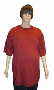 Grote maten T-shirt met ronde hals