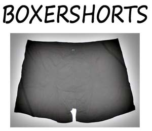 Boxershorts maat XL