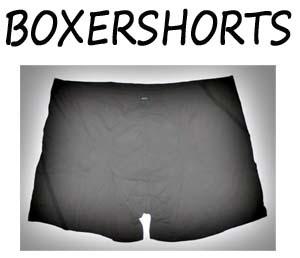 Boxershorts maat XXL